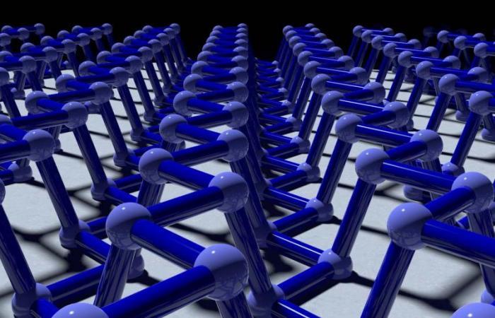 Digital rendering of phosphorene